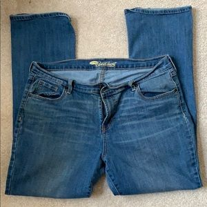 Old Navy Sweetheart Bootcut Jeans